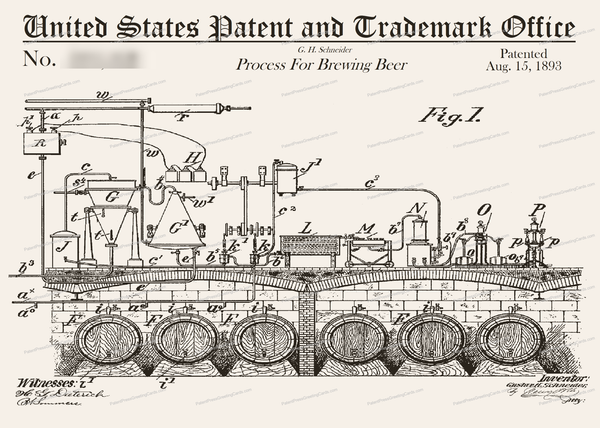 CARD-026: Brewing Beer - Patent Press™