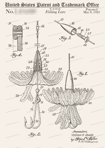 CARD-056: Fishing Fly - Patent Press™