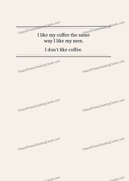 CARD-062: French Press