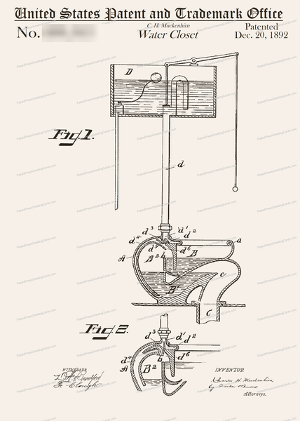 CARD-074: Toilet (diarrhea) - Patent Press™