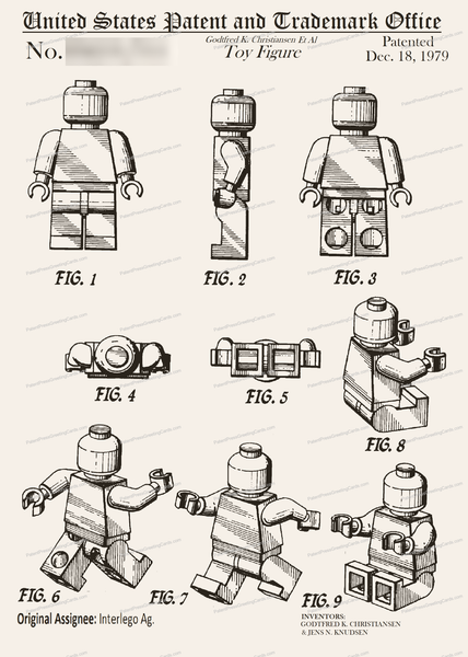 CARD-082: Lego Figure - Patent Press™