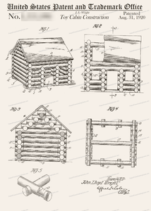 CARD-085: Lincoln Logs - Patent Press™