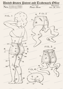 CARD-099: Pantyhose - Patent Press™