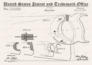 CARD-103: Saw - Patent Press™