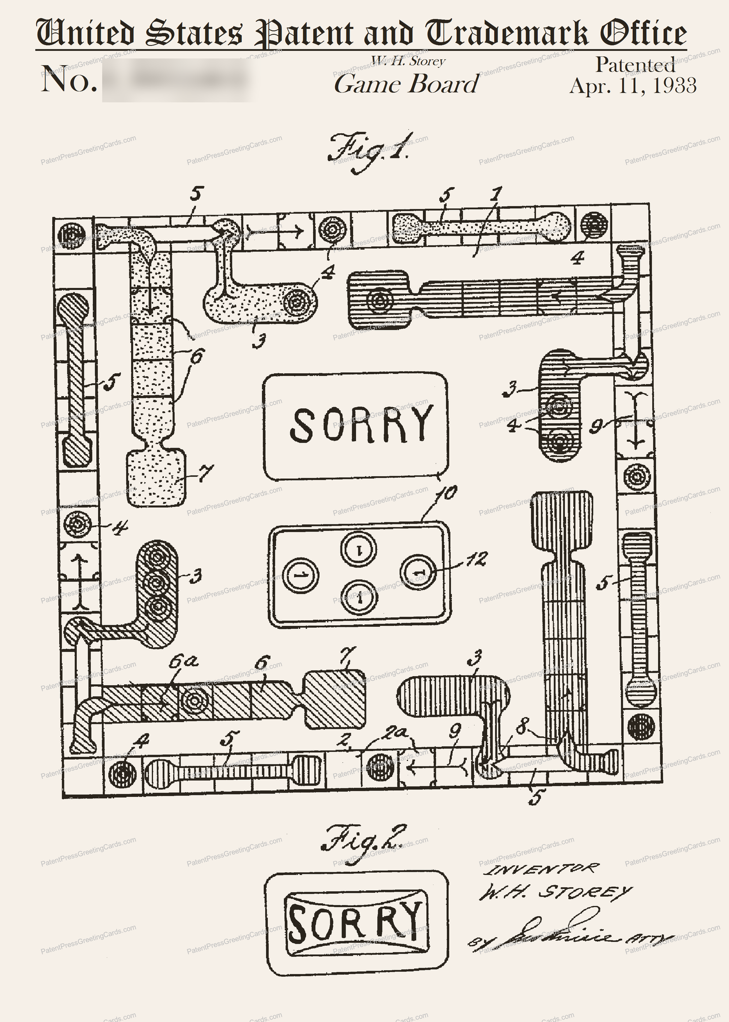 CARD-112: Sorry - Patent Press™