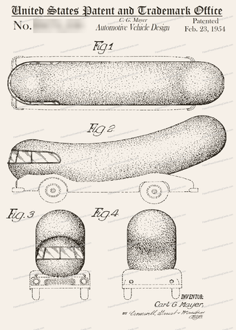 CARD-139: Wienermobile - Patent Press™