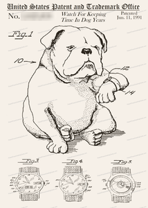 CARD-144: Dog Watch - Patent Press™