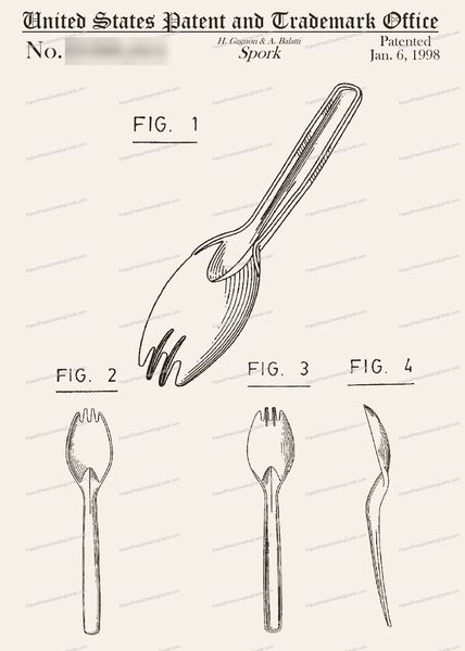 CARD-178: Spork - Patent Press™