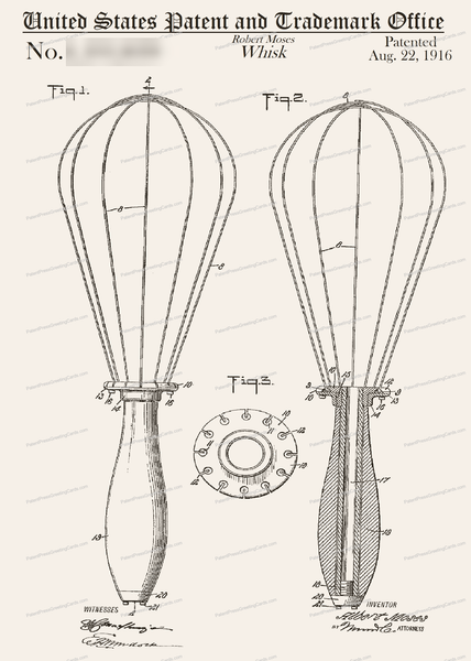 CARD-197: Whisk - Patent Press™