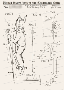 CARD-199: Ice Tool/Mountaineering - Patent Press™