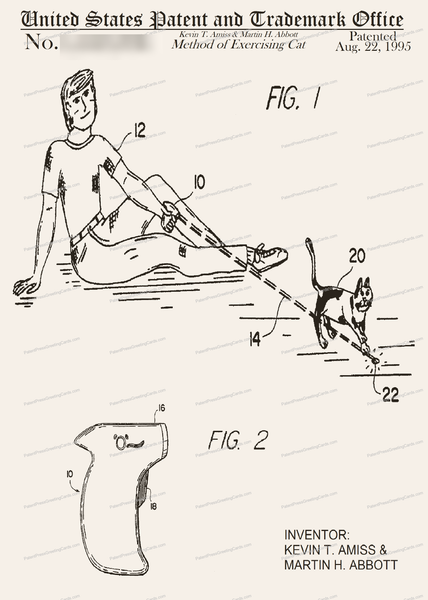 CARD-201: Method of Exercising Cat - Patent Press™