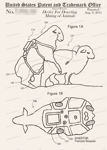 CARD-203: Device For Detecting Mating of Animals - Patent Press™