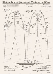 CARD-207: Carhartt's - Patent Press™