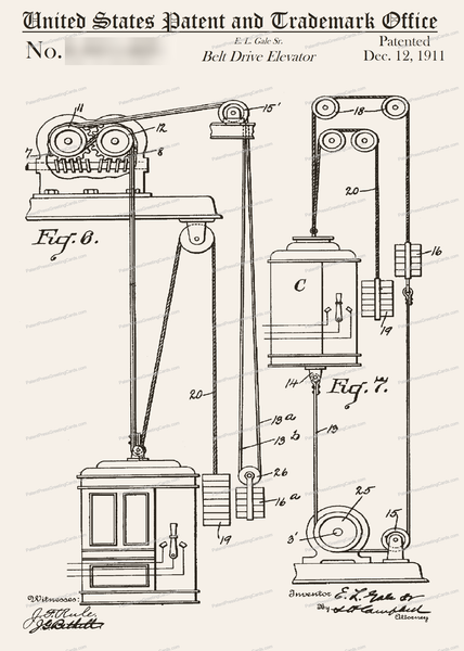 CARD-216: Elevator - Patent Press™