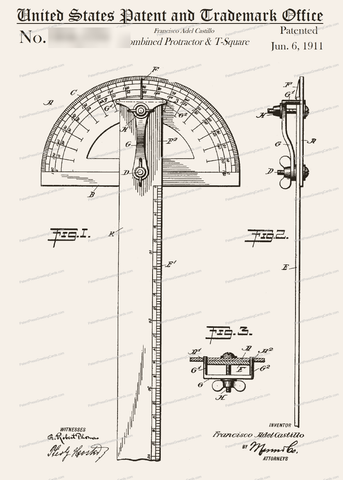 CARD-234: T-Square - Patent Press™