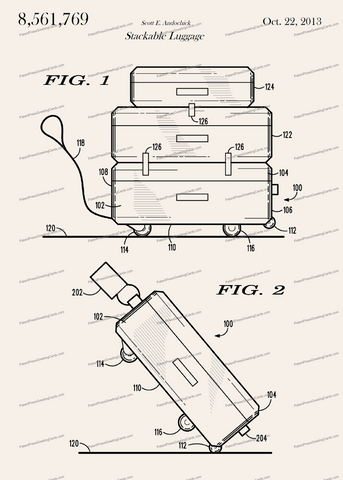 CARD-241: Stackable Luggage - Patent Press™