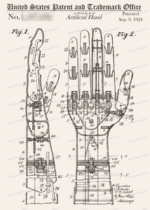 CARD-243: Artificial Hand - Patent Press™