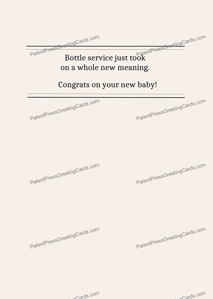 CARD-245: Baby Bottle