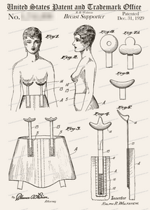 CARD-249: Breast Supporter - Patent Press™