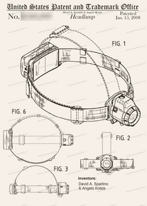 CARD-267: Headlamp - Patent Press™
