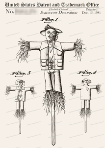 CARD-269: Scarecrow - Patent Press™