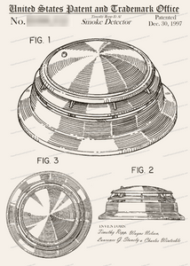 CARD-270: Smoke Detector - Patent Press™