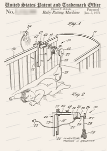 CARD-276: Baby Patting Machine - Patent Press™