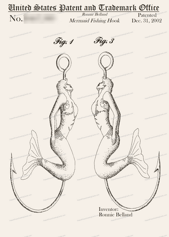 CARD-284: Mermaid - Patent Press™