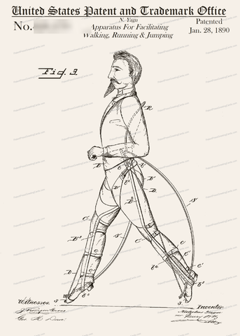 CARD-285: Apparatus for Walking - Patent Press™