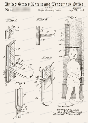 CARD-292: Height Measuring Device - Patent Press™