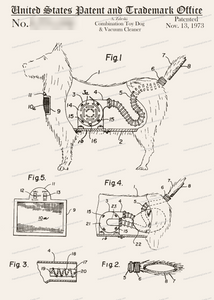CARD-293: Toy Dog & Vacuum Cleaner - Patent Press™