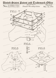 CARD-294: Thumb Wrestling Game - Patent Press™