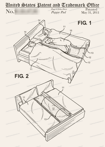 CARD-297: Puppy Pad - Patent Press™