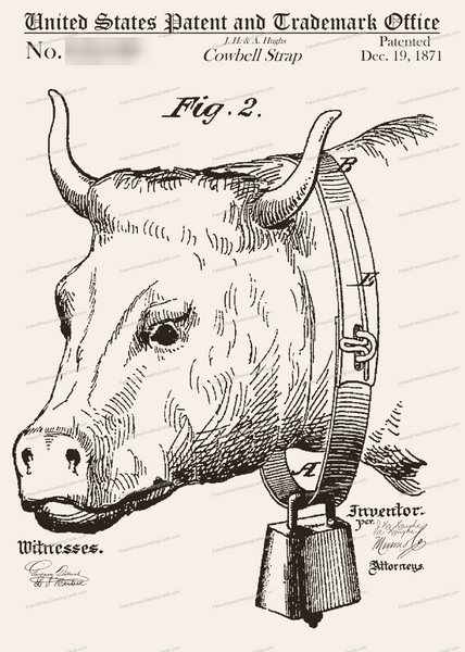 CARD-299: Cowbell - Patent Press™