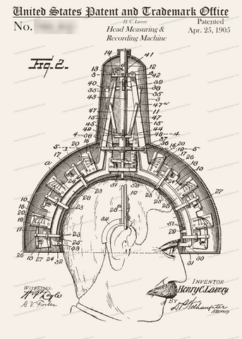 CARD-302: Head Measuring Device - Patent Press™