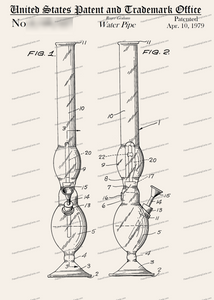 CARD-304: Water Pipe - Patent Press™
