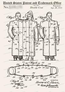 CARD-305: 2-Person Raincoat - Patent Press™