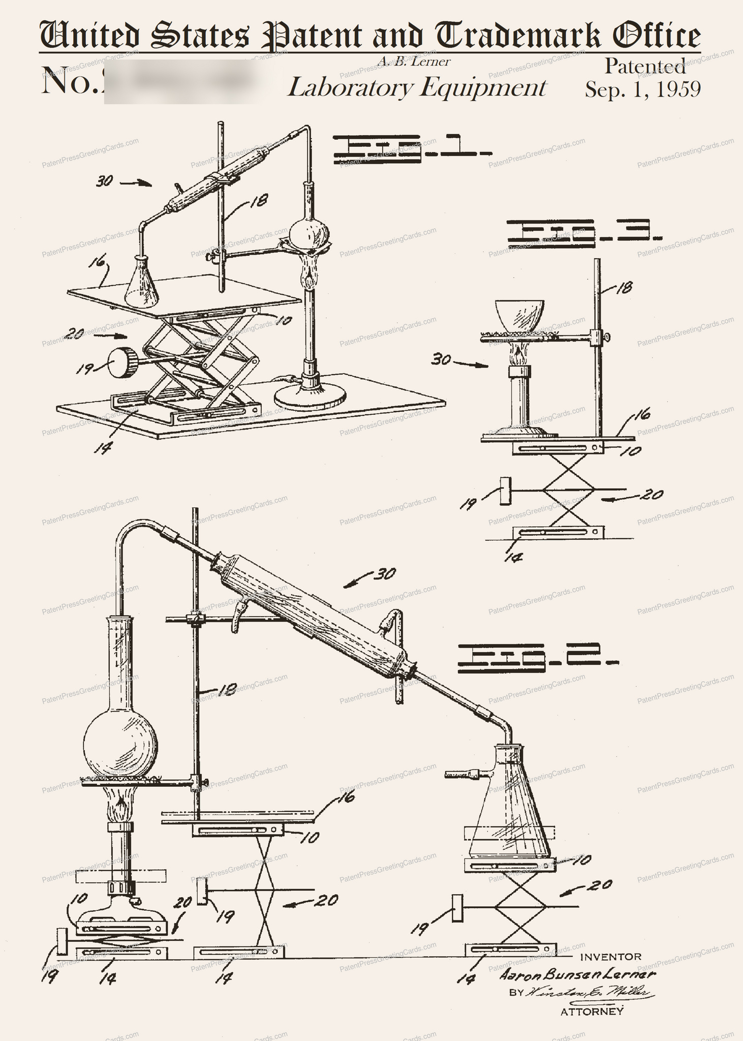 CARD-309: Lab Equipment - Patent Press™
