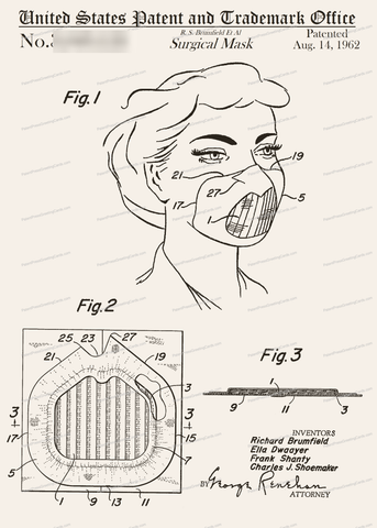 CARD-311: Surgical Mask - Patent Press™