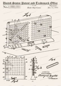 CARD-317: BattleShip Game - Patent Press™