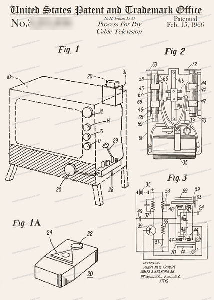 CARD-318: Cable TV - Patent Press™