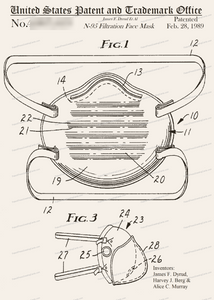 CARD-320: N-95 Face Mask - Patent Press™