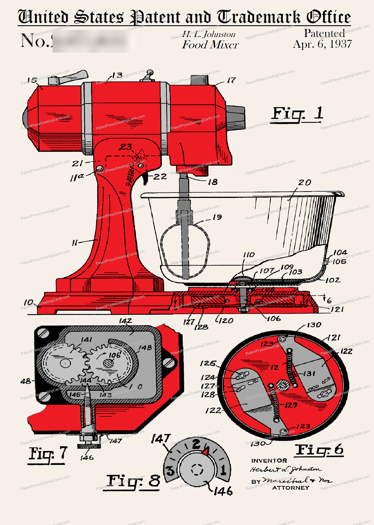 CARD-C918: Mixer - Patent Press™
