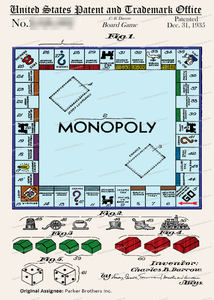 CARD-C919: Monopoly - Patent Press™