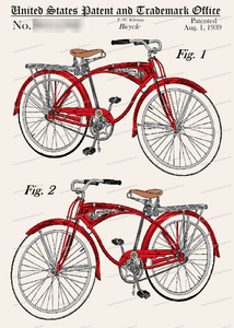 CARD-C925: Schwinn 1939 - Patent Press™