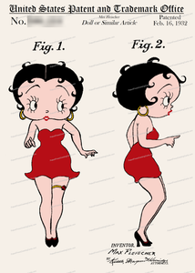 CARD-C940: Betty Boop - Patent Press™