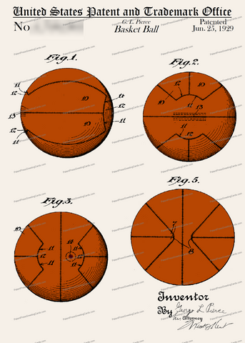 CARD-C957: Basketball - Patent Press™