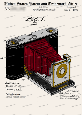 CARD-C965: Brownie Camera - Patent Press™