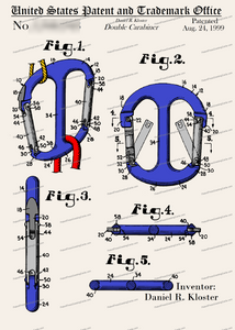 CARD-C973: Double Carabiner - Patent Press™