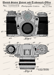 CARD-C982: Ikon Camera - Patent Press™